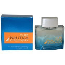 Nautica Pure Discovery Men's 3.4-ounce Eau de Toilette Spray