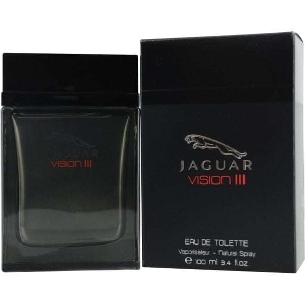 Jaguar Vision III Men's 3.4-ounce Eau de Toilette Spray