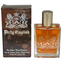 Juicy Couture Dirty English Men's 1-ounce Eau de Toilette Spray