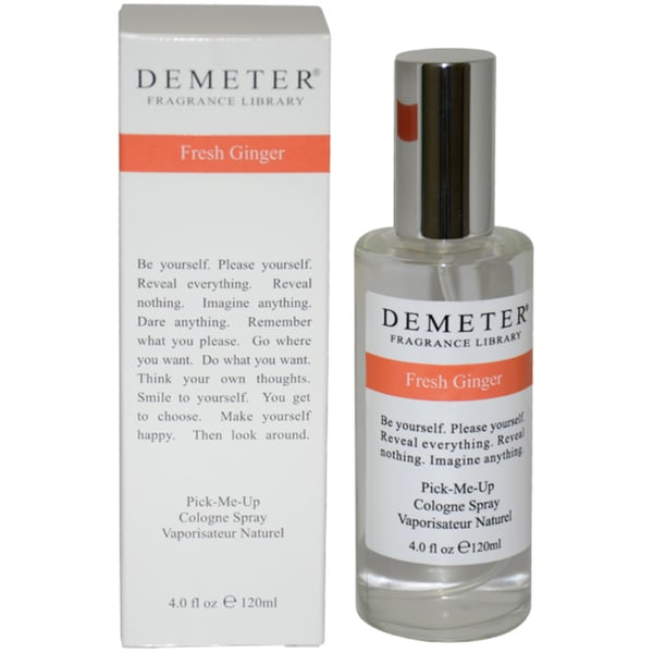 Demeter Fresh Ginger 4-ounce Cologne Spray