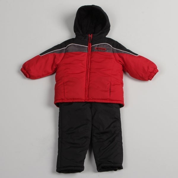 iXtreme Toddler Boys' Red Snowsuit