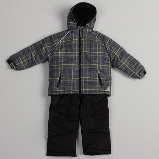 Rugged Bear Boys' Charcoal Snowsuit