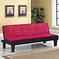 Hamar Pink Finish Adjustable Sofa