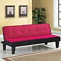 Hamar Pink Finish Adjustable Sofa