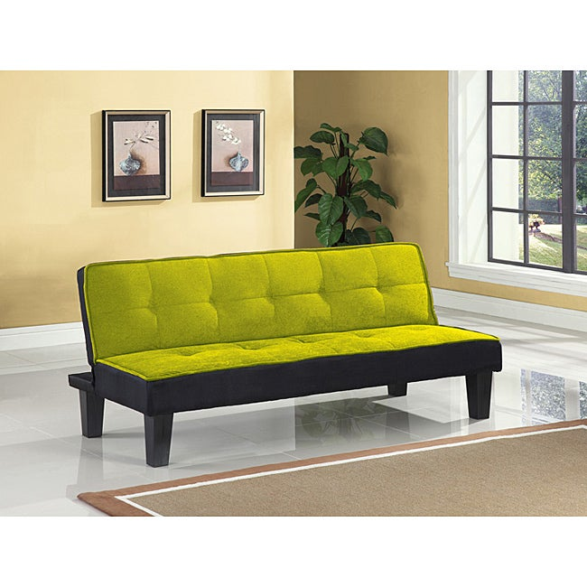 Hamar Green Finish Adjustable Sofa