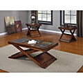Dark Oak Finish 3-piece Coffee/ Table Set