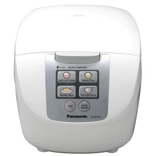 Panasonic Fuzzy Logic White 10-cup Rice Cooker