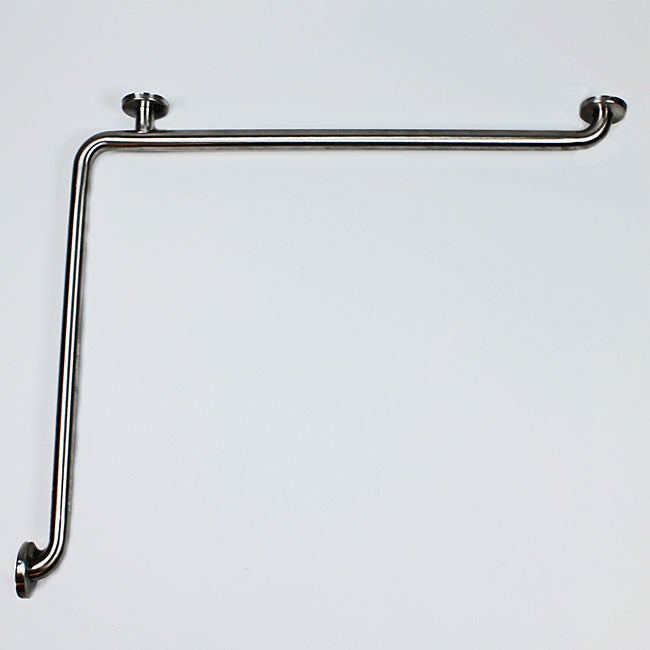 CSI Bathware Satin Stainless Steel Horizontal Angle Grab Bars (Set of 5)