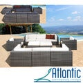Milano Grey/Off-White 10-piece Sectional