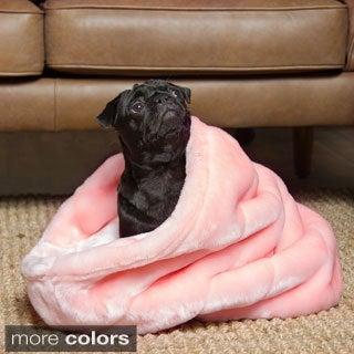 Tiger Dreamz 3-way Snuggle Pet Bed