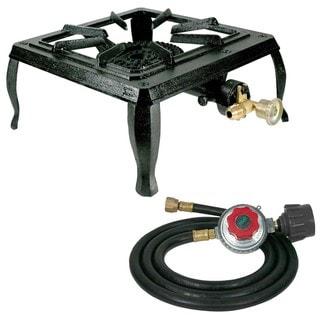 Single Burner Cast Iron Stove with Regulator Hose