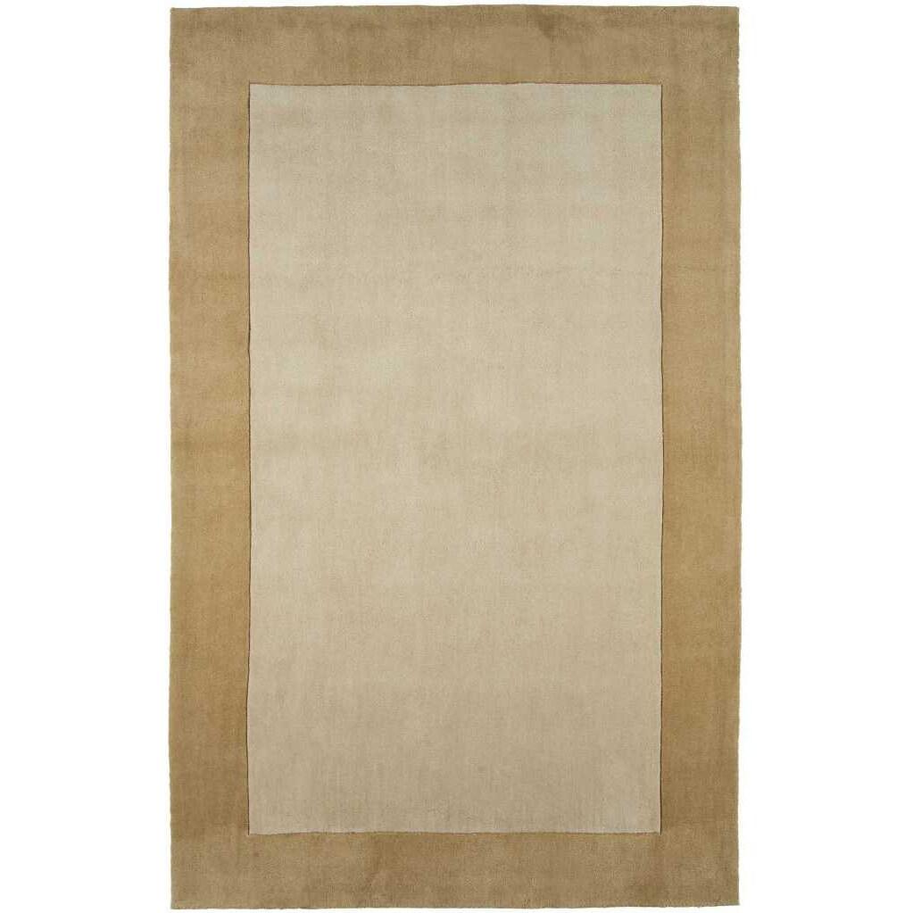 Hand-tufted Sand/ Tan Rug (2' x 3')