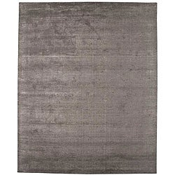 Hand-tufted Grey Wool Blend Rug (3'6 x 5'6)