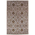 Hand-tufted TAC-03X Grey Wool Rug (2'6 x 8')