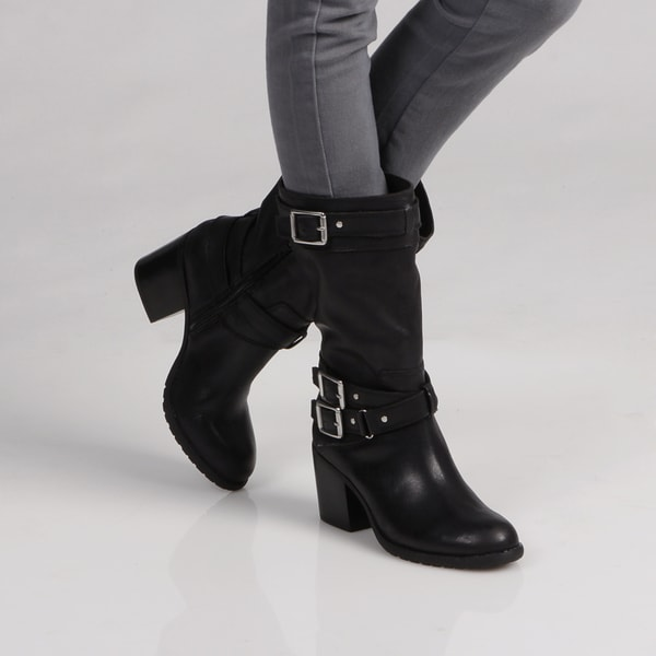 Jessica Simpson 'Nermin' Buckle Boots