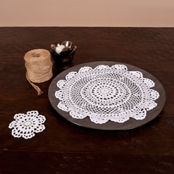 Crochet Lace Doily (Set of 12)