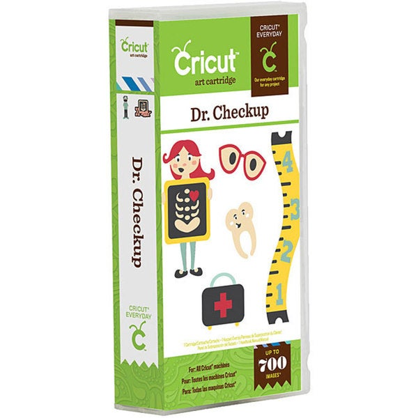 Cricut Everyday 'Dr. Checkup' Cartridge