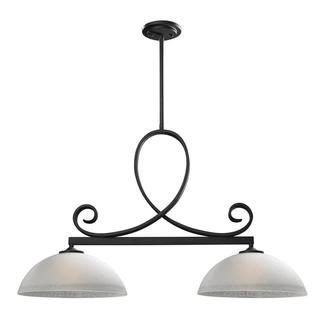Z-Lite Arshe Cafe Bronze 2-light Pendant