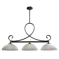 Arshe 3-light Bronze Pendant