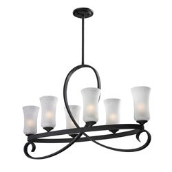 Arshe 6-light Bronze Pendant