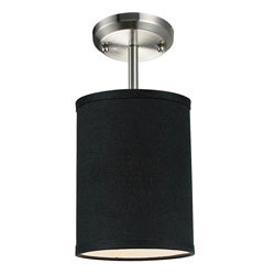 Albion Black Drum Shade 6-inch Lighting Fixture