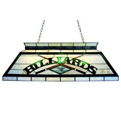 Classic Tiffany-style Billiard Lighting Fixture