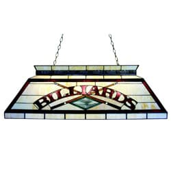 Tiffany-style Billiard Lighting Fixture