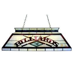 Tiffany-style Billiard Lighting Fixture