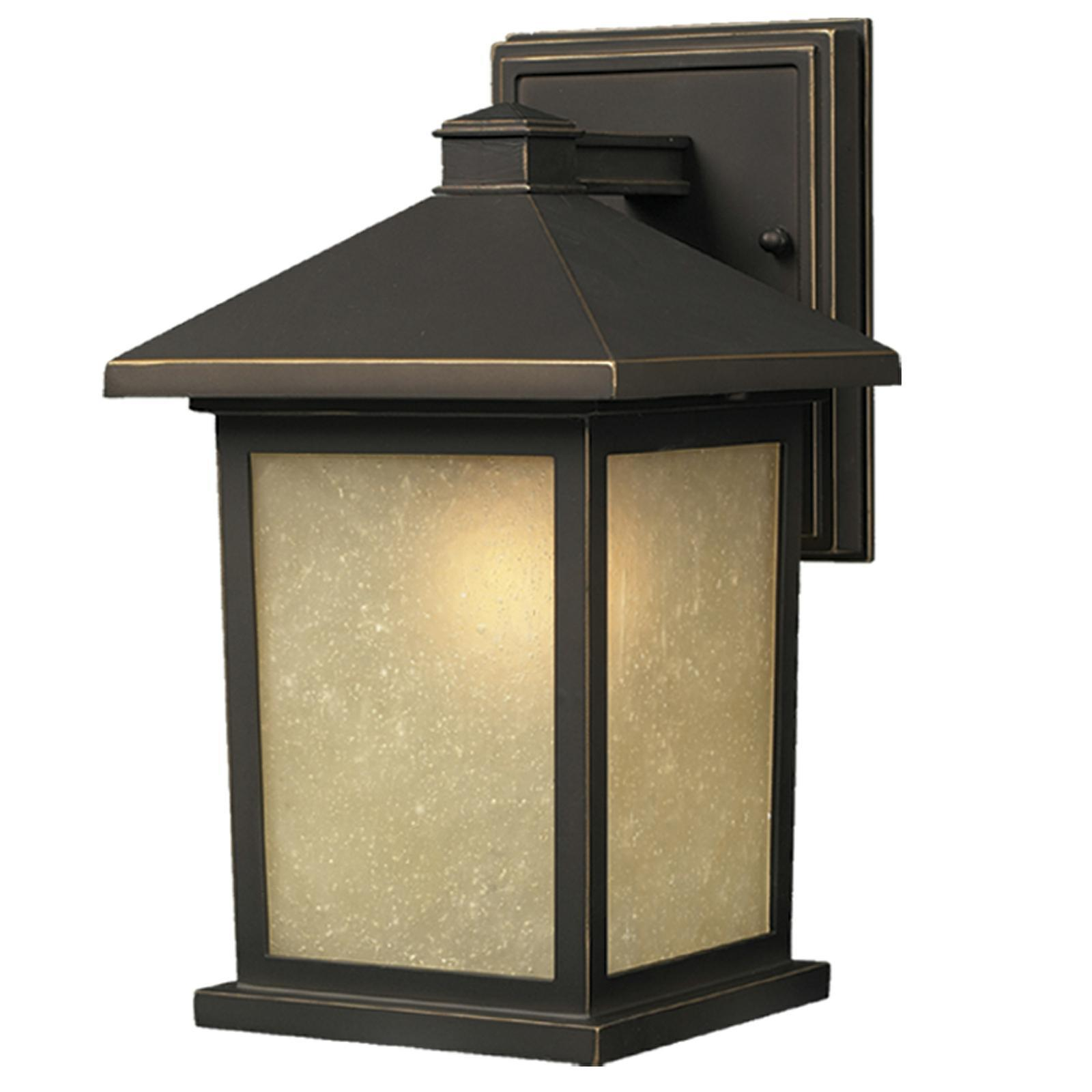 Holbrook Traditional 1 Light Oil Rubbed Bronze Outdoor
