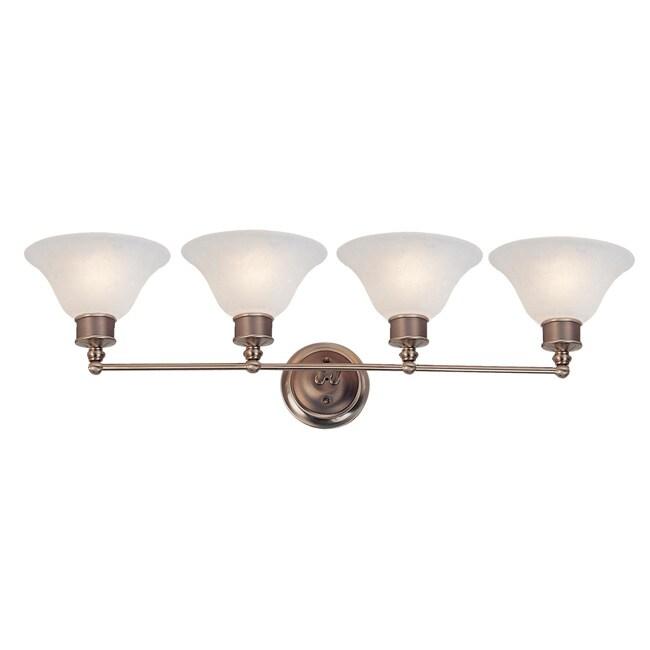 Dynasty 4-light White Lighting Fixture