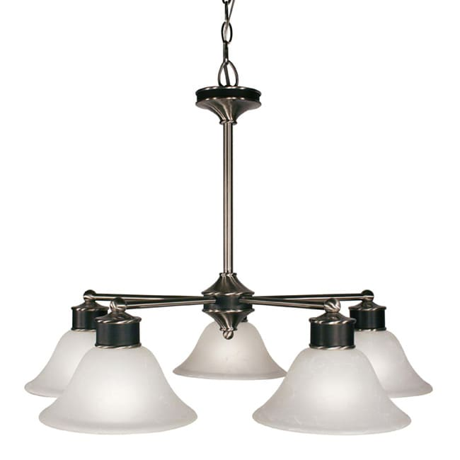 Dynasty 5-light White Lighting Fixture
