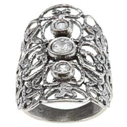 Silver Swirl Ring (Israel)