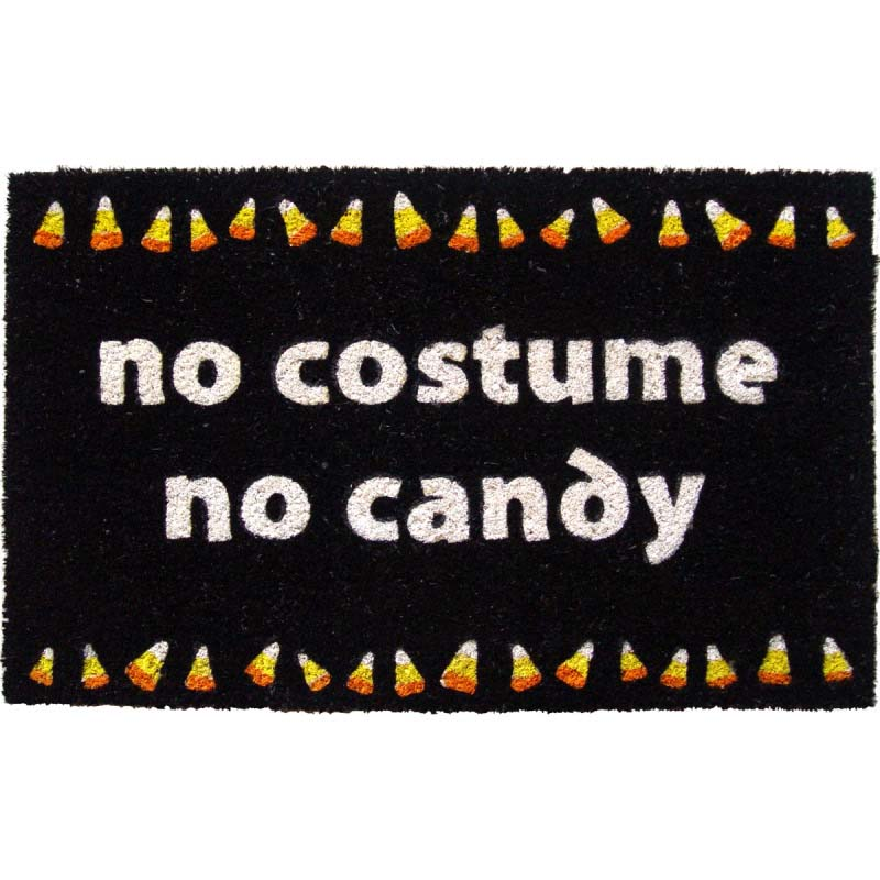 No Costume No Candy Non-slip Doormat