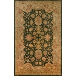 Hand-tufted Issa Green Wool Rug (8' x 10')