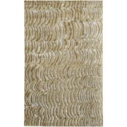 Julie Cohn Hand-knotted Vilas Grey Abstract Design Wool Rug (5' x 8')
