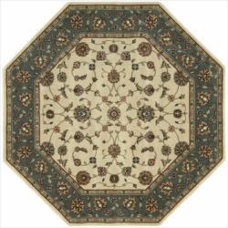 "Nourison Persian Arts Ivory Area Rug (5'3"" x 5'3"" Octagon)"