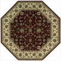 Nourison Persian Arts Traditional Burgundy Area Rug (5'3