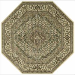 Nourison Persian Arts Ivory Rug (5'3 x 5'3 Octagon)