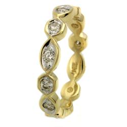 Beverly Hills Charm  14k Yellow Gold 2/5 ct. TDW Diamond Band (H-I, I1)