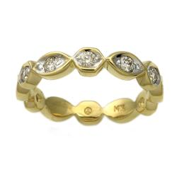 Beverly Hills Charm 14k Yellow Gold 2/5 ct. TDW Diamond Band (H-I, I1)