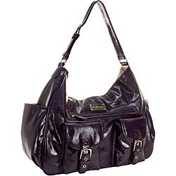 Amy Michelle Sweet Pea Plum Diaper Bag