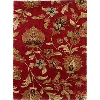 Fabulous Red Shag Rug (5'3 x 7'3)