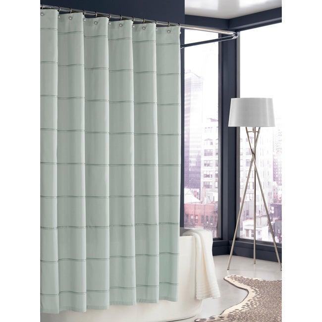 Trump Home Mar-a-Lago Morning Mist Stripe Shower Curtain
