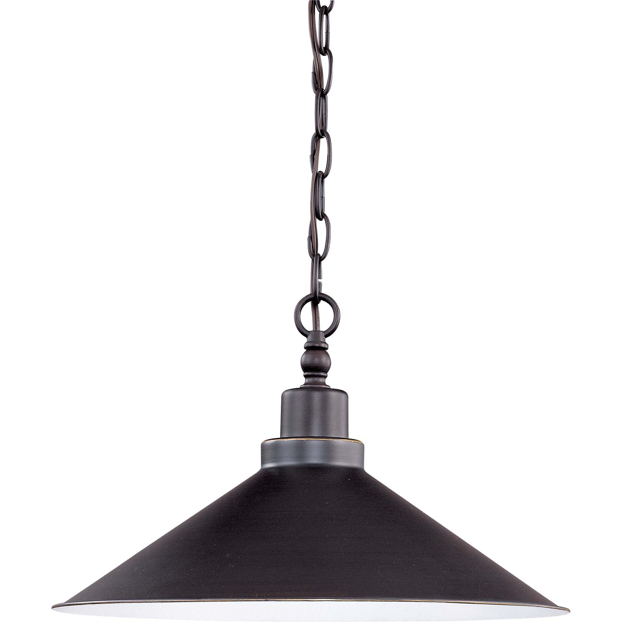 Bridgeview 1 Light Mission Dust Bronze Finish Pendant