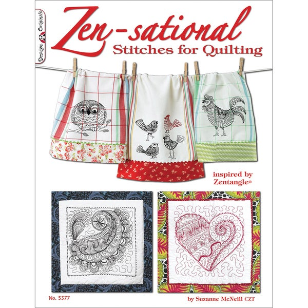Design Originals-Zen-Sational Stitches For Quilting