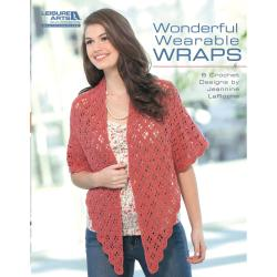 Leisure Arts-Wonderful, Wearable Wraps