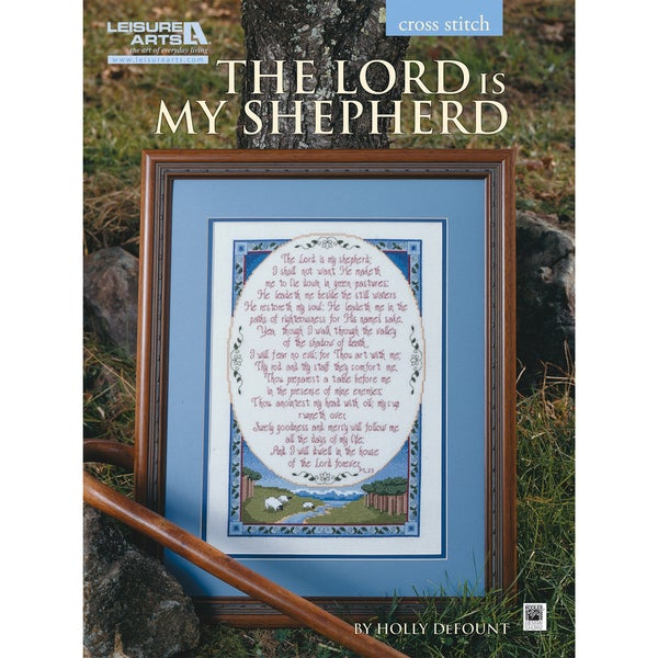 Leisure Arts-The Lord Is My Shepherd