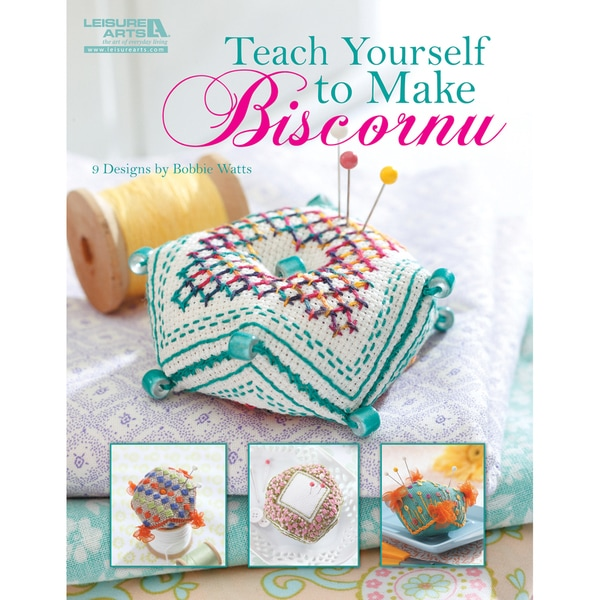 Leisure Arts - Teach Yourself To Make Biscornu (32-page Softcover)