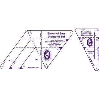 Multi-Sized Diamond Template Set-Storm At Sea 2/Pkg