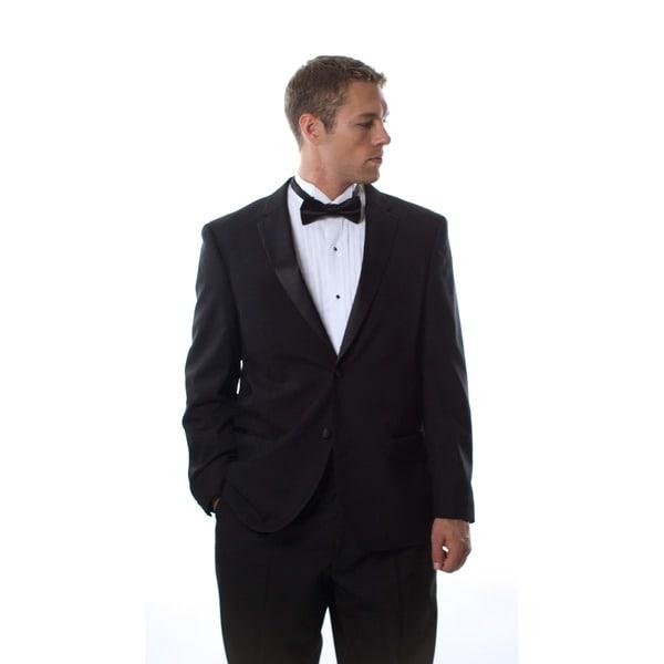 Ferretti Men's Black Wool Tuxedo